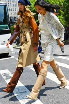 From fashion shows to errands. Givenchy boots photographed by Phil Oh