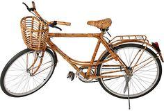 Vietnamese bamboo bicycle, 1940s