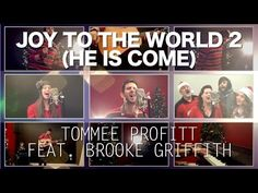 "NEW CHRISTMAS SINGLE! - ""Joy to the World 2 (He is Come)"" - Tommee Profitt feat. Brooke Griffith - YouTube"