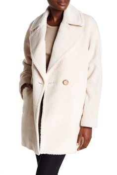 9faaba51709 Trina Turk - Nancy Double Breasted Wool Blend Coat is now 58% off. Free
