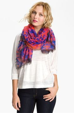 Collection XIIX 'Wanderlust Tribal' Scarf available at #Nordstrom