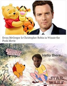 Ewan is the new Christopher Robin by 'Star Wars Sithposting' : PrequelMemes