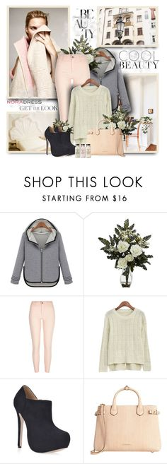 """Noradress22"" by sneky ❤ liked on Polyvore featuring Nearly Natural, River Island, Burberry and noradress"