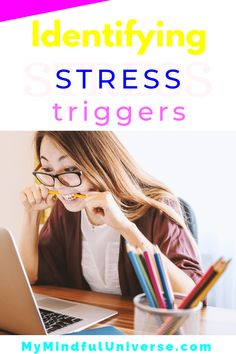In order to be able to learn how to deal with stress you first need to learn identifying stress triggers. This post shows you how you can do this Types Of Stress, Signs Of Stress, Dealing With Stress, Work Stress, Reduce Stress, How To Relieve Stress, Stress Factors, Stress Symptoms, Feeling Stressed