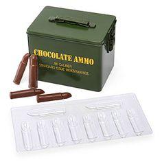 Chocolate ammo mold kit
