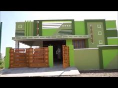 2 BHK Individual House Sale in Saravanampatti Coimbatore - Her Crochet House Front Wall Design, House Balcony Design, House Arch Design, Single Floor House Design, Village House Design, Duplex House Design, Small House Design, Indian House Exterior Design, Classic House Exterior