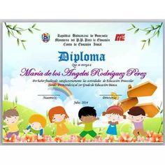 Diplomas Para Graduacion Preescolar - Bs. 2.500,00