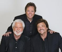 BROTHERS IN ARMS: Merrill, Jimmy and Jay Osmond have date at Mechanics