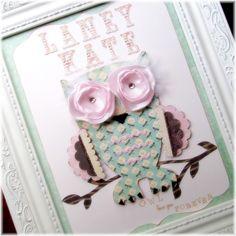 OWL Love You Foreverthe Laney Kate Custom 3D by LilypadLaneDesigns, $46.00