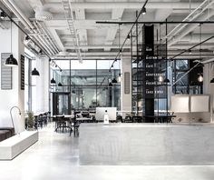 Scandinavian Inspired Minimalist Restaurant Decor - InteriorZine