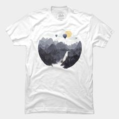 Roundscape II T Shirt By Filgouvea Design By Humans