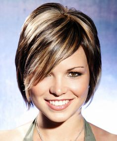 35 Short Hair Color Ideas Short Hairstyles 2016 2017 Most Short Brown Hair With Blonde Highlights Short Brown Hair With Blonde Highlights Short Brown Hair With Blonde Highlights, Short Dark Hair, Brown Blonde Hair, Hair Highlights, Short Hair Cuts, Short Hair Styles, Thick Highlights, Blonde Peekaboos, Highlights 2016