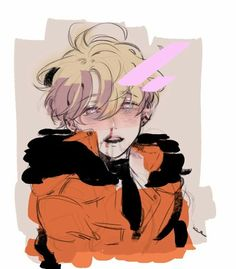 Bloody anime boy Guro South Park Kenny