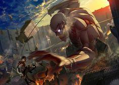 Metal Poster Attack On Titan