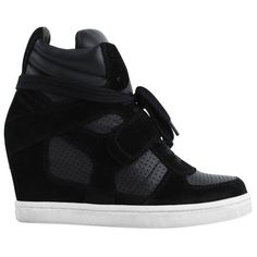 ASH Nappa and Suede Cool Trainer at Flannels Fashion