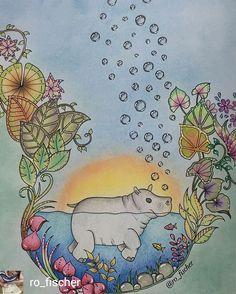 @Regrann_App from @ro_fischer - Gostei tanto das bolhas que fui obrigada a repetir 😂😂💞💞 Bom Domingo, happy Sunday #magicaljungle #arttherapie #adultcoloring #adultcoloringbook #coloringbook #coloriageadulte #coloriageantistress #beautifulcoloring #coloredpencils #florestaencantada #jardimsecretotop #lapisdecor #livrodecolorir #livredecoloriage #coloring_secrets #boracolorirtop #colorindolivrostop #coloring_masterpieces #colorirlove #Creativelycoloring #bayan_boyan #divasdasartes...