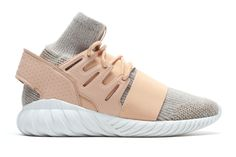 """c0144c2c0cd135 adidas  Tubular Doom PK silhouette is back this winter season in a new """"St  Pale Nude"""" colorway. Featuring the Tubular s classic midsole"""