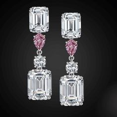 Star Diamond. A Sublime Pair Of Classic Earrings #diamondearring