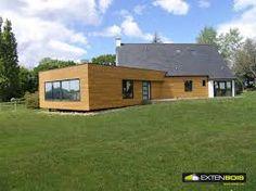 """Résultat de recherche d'images pour """"extension maison bois"""""""