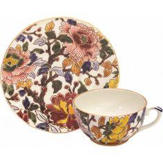 Pivoines - 1 Tasse et soucoupe thé - Pivoines - Gien Prestige - Collections