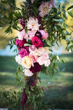 Burgundy, blush and pinks enhance this rustic wedding arch at Burdoc Farms photo: Eden and Archer Photography flowers: Hello Buttercup Flowers Rustic Wedding Attire, Wedding Arch Rustic, Wedding Cake Display, Wedding Centerpieces Mason Jars, Rustic Wedding Showers, Wedding Cupcake Toppers, Farm Photo, Wedding Shower Invitations, Photography Flowers