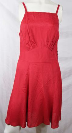 Reformation-Cobra-Dress-Red-Strappy-M