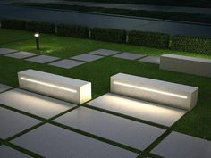 Have you just bought a new or planning to instal landscape lighting on the exsiting house? Are you looking for landscape lighting design ideas for inspiration? I have here expert landscape lighting design ideas you will love. Landscape Lighting Design, Modern Landscape Design, Landscape Architecture Design, Modern Landscaping, Backyard Landscaping, Landscaping Software, Landscaping Design, Garden Seating, Outdoor Seating