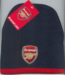 2c34cf314a8 Arsenal (Official) Merchandise Black Beanie Hat Black Beanie