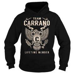 (Tshirt Amazing Tshirt) Team CARRANO Lifetime Member Last Name Surname T-Shirt Shirt design 2016 Hoodies, Funny Tee Shirts