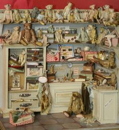 Miniature bear shop...