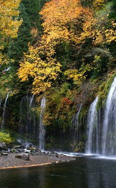 Mossbrae Falls | Travel | Vacation Ideas | Road Trip | Places to Visit | Dunsmuir | CA | Monument | Hiking Area | Natural Feature | Scenic Point