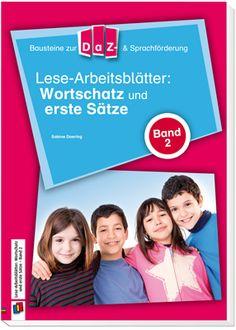 Bausteine für die DaZ- und Sprachförderung: Lese-Arbeitsblätter: Wortschatz und…