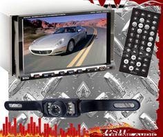 "BV9558 PLCM10 BOSS 7"" Double-DIN Touchscreen AM,FM,DVD,SD,USB With Rear View Cam"