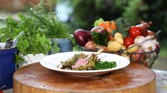 BBC One - My Life on a Plate - Roast rack of English lamb with herb crust