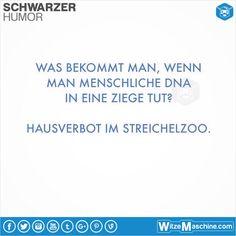 Schwarzer Humor Witze Sprüche #19 - Streichelzoo - WitzeMaschine