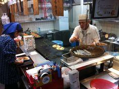 Okonomiyaki – Japanilainen munakas