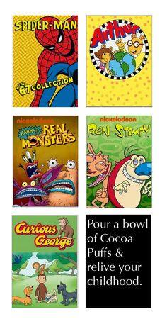Old Favorites Cartoons Via Netflix
