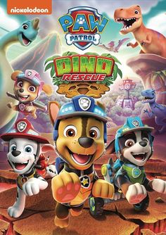 """""""PAW Patrol: Dino Rescue Roar to the Rescue"""" (& Giveaway Ends 4/9)"""