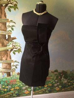 Arden B Women's Black Strapless Bodycon  Mini Dress SZ Large #ArdenB #Sexy #Clubwear