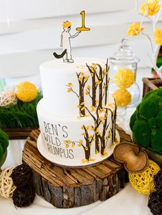 """Where the Wild Things Are"" party - I love when the party theme is based on a children's book. This one is so creative and whimsical."