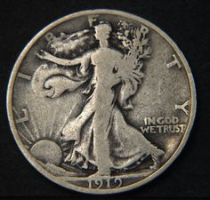 Item specifics     Year:   1919   Mint Location:   Philadelphia     Circulated/Uncirculated:   Circulated   Composition:   Silver     Strike Type:   Business   ... Dollar Usa, Half Dollar, Coin Collecting, Philadelphia, Liberty, Coins, Composition, Personalized Items, Type