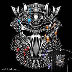 4 Ninjas 1 Samurai | Shirtoid #film #glitchygorilla #movies #shredder #teenagemutantninjaturtles #tmnt #tvshow