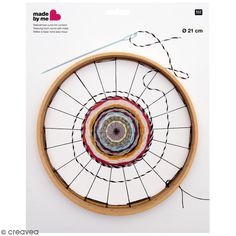 Wooden Bead Weaving Beading Loom Beginners DIY Jewelry Tapestry Frame Craft Handmade Gift Rico Design Diy for Sale and Wholesale Hobbies And Crafts, Crafts For Kids, Circular Weaving, Rico Design, Frame Crafts, Loom Weaving, Tapestry Weaving, Diy Schmuck, Weaving Techniques