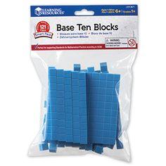 Base Ten Blocks Smart Pack