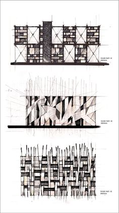Interesting Find A Career In Architecture Ideas. Admirable Find A Career In Architecture Ideas. Croquis Architecture, Architecture Design, Concept Architecture, Facade Design, Exterior Design, Cl Design, Building Facade, Oeuvre D'art, Bauhaus
