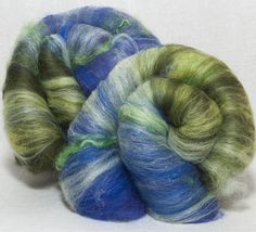 Spinning fibre  Felting batts hand carded, Merino, Leicester Long Wool locks,ultra violet sparkles roving spinning Fibre Fiber