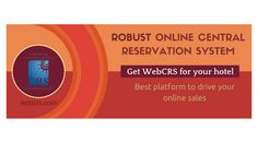 Get Webcrs for the #better management of hotel business and drive #online sales .