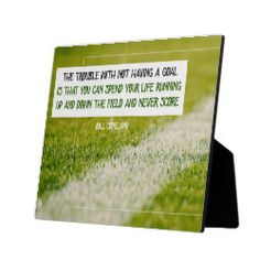 Having A Goal Plaque - home decor design art diy cyo custom Crisp Image, Surface Design, Customized Gifts, Slogan, Cleaning Wipes, Typography, Inspirational Quotes, Cards Against Humanity, Goals