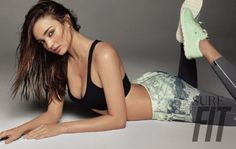 Miranda Gets a Work Out--After looking amazing in neutrals, Miranda Kerr is back for another Sure Korea shoot with its Fit edition which looks at workout s