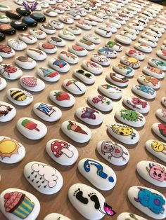 Meet the Mum Behind the Maker - Our Story Stones Rock - story stones - imaginative play - communication - language - story telling - story props #teannashillam<br> Pebble Painting, Pebble Art, Stone Painting, Pebble Mosaic, Painting Art, Paintings, Kids Crafts, Summer Crafts For Kids, Kids Diy